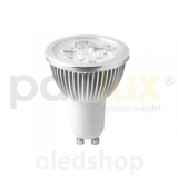 LED žárovka PANLUX GU10 HIGH POWER 4 LED 5,5W