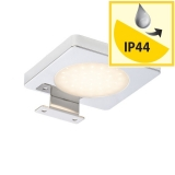 RENDL YOLO SQ nad zrcadlo chrom 12= LED 4W IP44 3000K