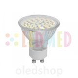 LED žárovka LEDMED GU10 SMD 48 LED 2,5W