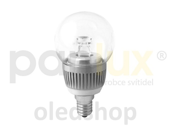 LED žárovka PANLUX E14 BALL 3,5W