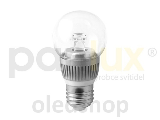 LED žárovka PANLUX E27 BALL 3,5W