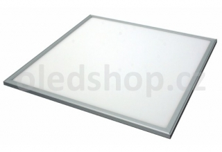 Stmívatelný LED panel OfficeLED TESLUX 600×600mm, 40W, NW, 1-10V