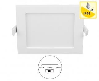 Panlux LED DOWNLIGHT CCT SQUARE, 12W, 3000-4000-6000K