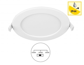 Panlux LED DOWNLIGHT CCT ROUND, 6W, 3000-4000-6000K