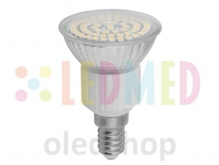 LED žárovka LEDMED E14 SMD 60 LED 3,5W
