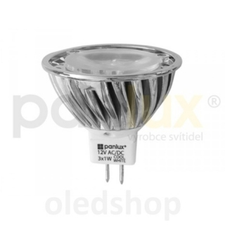 LED žárovka PANLUX GU5,3 HIGH POWER 3 LED 3,6W