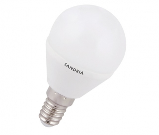 LED žárovka Sandy LED S1192 B45 E14 5W 3000K 420lm