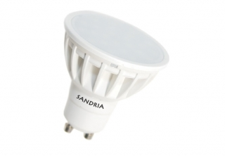 LED žárovka Sandy LED S1116 GU10 5W SMD 3000K 480lm