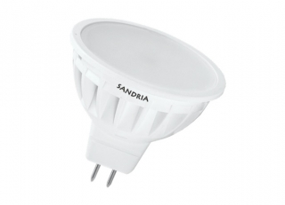 LED žárovka Sandy LED S1338 MR16 4,5W SMD 3000K 450lm