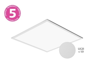 LED panel PANLUX THIN UGR 600×600 40W neutrální 4000lm