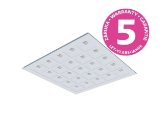 LED panel PANLUX EVO UGR19 600×600 24W 3480lm 4000K