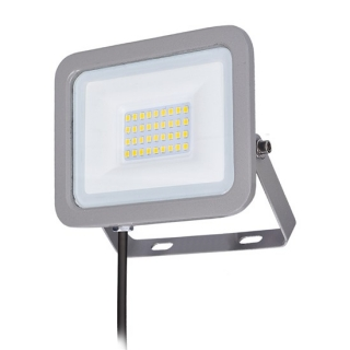 Solight LED reflektor Home, 30W, 2250lm, 4000K, IP65, šedý